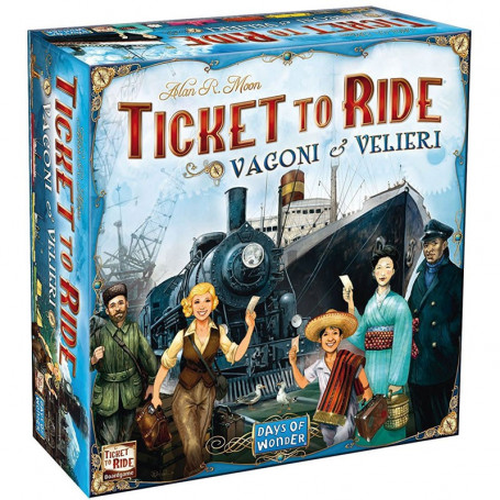 Ticket to Ride Vagoni e Velieri