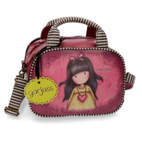 Borsa Beauty Case Gorjuss Heartfelt