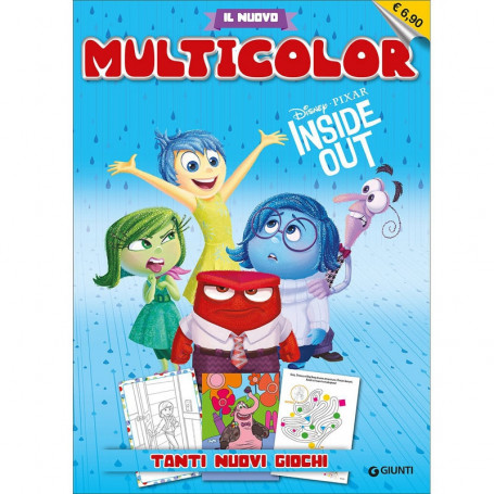 Libro Multicolor Inside Out da Colorare