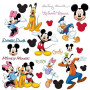 Topolino Mickey Mouse Adesivi da Parete Wall Stickers