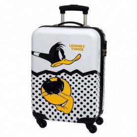 Valigia Trolley rigido ABS Daffy Duck Looney Tunes
