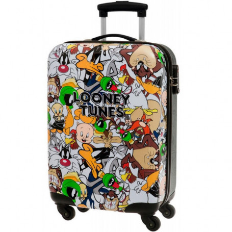 Valigia Trolley Rigido ABS Looney Tunes