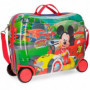 Valigia Trolley Cavalcabile Mickey Mouse Roadster Racers in ABS