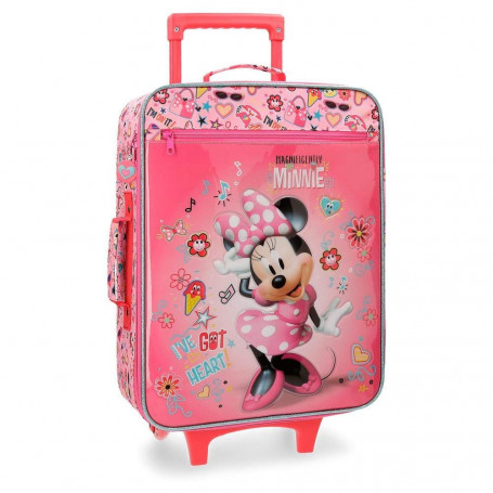 Valigia Trolley Minnie Disney Semirigida 50cm