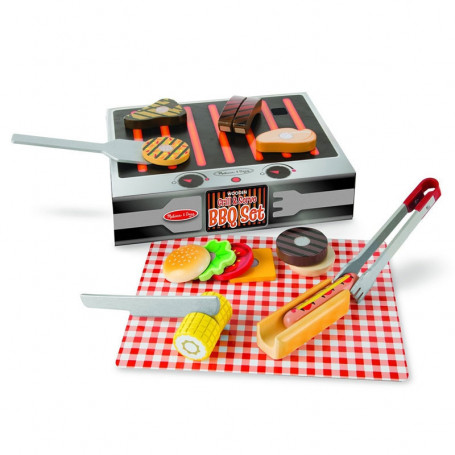 Set Barbecue & Grill in Legno