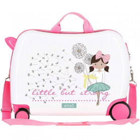 Valigia Cavalcabile Trolley per bambina Little But Strong 50 cm
