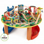 Set Tavolo e pista Trenino in legno City Explorer - Kidkcraft 17985