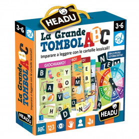 La grande Tombola ABC Montessori Headu 22410