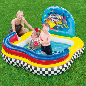 Piscina per bambini gonfiabile Mickey Mouse Road Racer