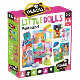 Gioco Montessori Le Bamboline My Little Dolls Headu 22229