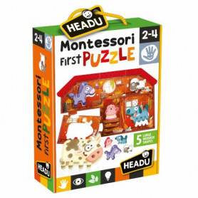 Gioco Montessori First Puzzle The Farm Headu 20140